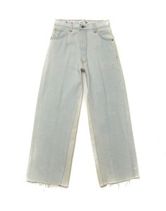 RE/DONE Levi Vintage High-rise Trouser/Wide Leg Jeans-Light Wash
