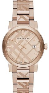 Burberry Swiss Ion-plated Bracelet Watch