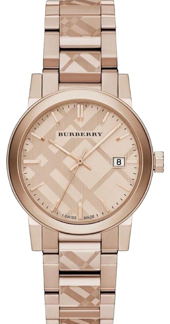 Item - Rose-gold Swiss Ion-plated Bracelet Watch