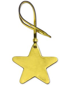 Coach Coach Star Ornamental Bag Charm, Metallic Lemon