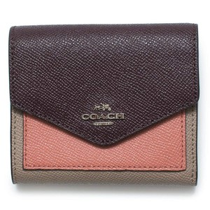 Coach COACH Women's Small Wallet In Colorblock Leather WOT