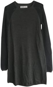 Carve Designs short dress Dark Grey with Charcoal knit Sweater Sweater on Tradesy