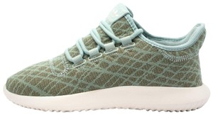 adidas Running Sneakers Lace Up Tubular Green Athletic