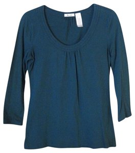 Liz & Co. Top Teal