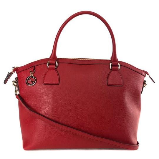 b695992f0dfc Gucci Women's Red Leather Shoulder Bag | Stanford Center for ...