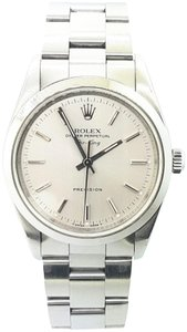 Rolex Rolex Air-King Precision Stainless Steel Silver Dial 34mm Watch