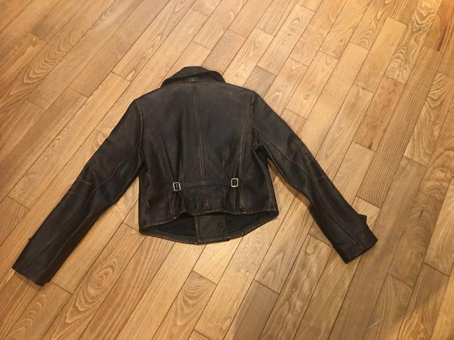 Polo Ralph Lauren Brown Leather Jacket