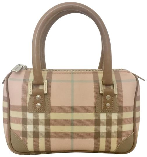 Preload https://item4.tradesy.com/images/burberry-guc-vintage-mini-nova-check-speedy-tote-pink-leather-and-pvc-satchel-23848163-0-1.jpg?width=440&height=440