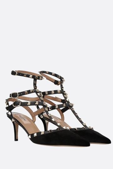 Valentino Caged Wedding Black Pumps