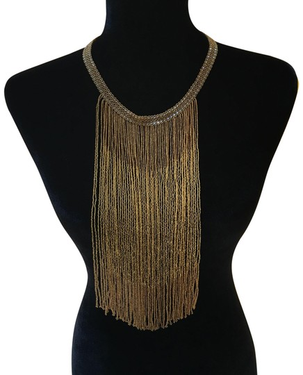Preload https://img-static.tradesy.com/item/23848177/gold-waterfall-glass-beads-necklace-0-1-540-540.jpg