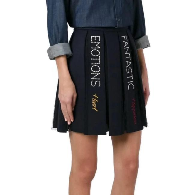 RED Valentino Mini Skirt Navy