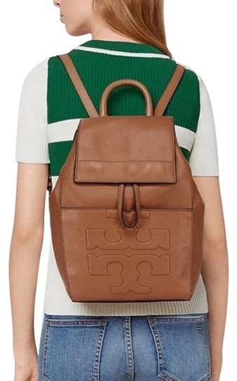 Preload https://item2.tradesy.com/images/tory-burch-new-logo-flap-tan-brown-leather-backpack-23848216-0-1.jpg?width=440&height=440