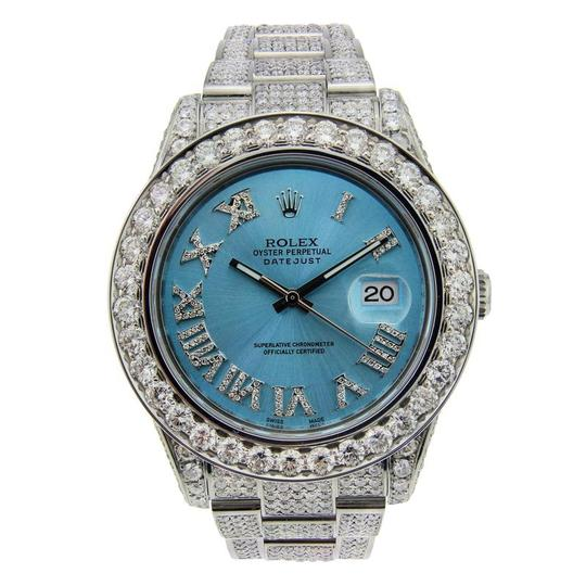 Preload https://item2.tradesy.com/images/rolex-silver-and-blue-datejust-ii-stainless-steel-with-diamonds-and-ice-dial-41mm-watch-23848291-0-0.jpg?width=440&height=440
