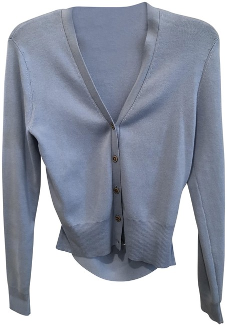 Preload https://item4.tradesy.com/images/cabi-periwinkle-cut-out-cardigan-size-8-m-23848293-0-1.jpg?width=400&height=650