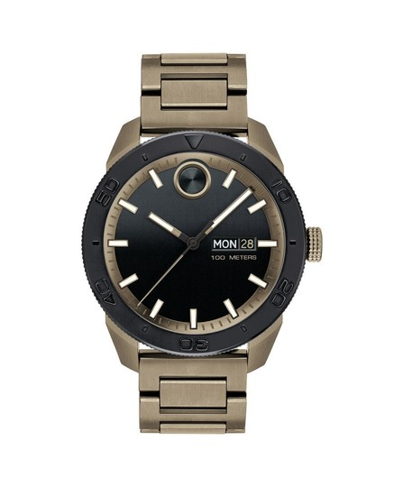 Preload https://item4.tradesy.com/images/movado-beige-black-dial-khaki-ion-plated-men-s-watch-23848303-0-0.jpg?width=440&height=440
