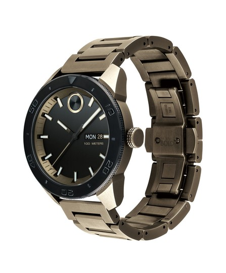 Movado Dial Khaki Ion-plated Men's Watch