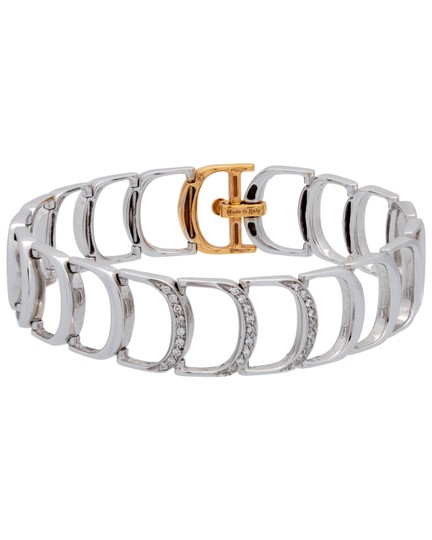 Preload https://img-static.tradesy.com/item/23848313/damiani-white-gold-damianissima-18-karat-pink-and-pave-diamond-bracelet-0-0-540-540.jpg