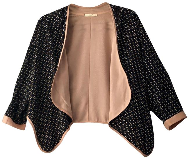 Preload https://item3.tradesy.com/images/le-lis-navy-light-pink-draped-front-cardigan-size-12-l-23848387-0-1.jpg?width=400&height=650