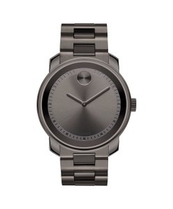 Movado Bold Ion-Plated Stainless Steel Unisex Quartz Watch