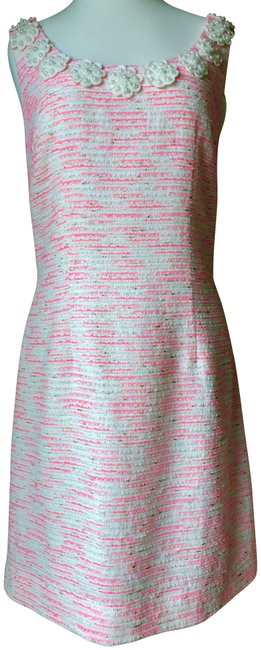 Preload https://item4.tradesy.com/images/lilly-pulitzer-sparkle-pink-boucle-nina-short-casual-dress-size-10-m-23848423-0-1.jpg?width=400&height=650
