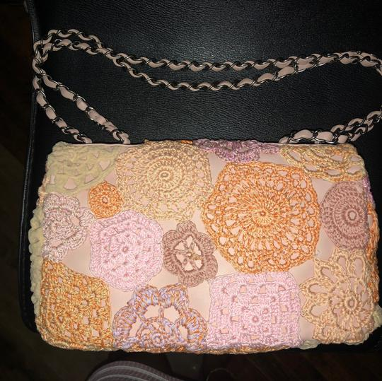 Chanel Satchel in pink and orange