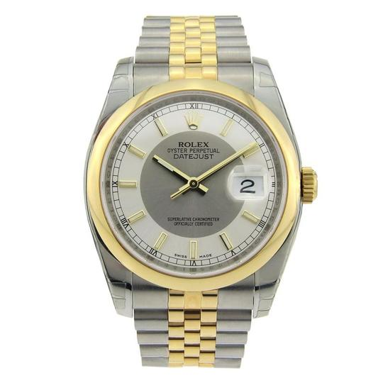 Preload https://item4.tradesy.com/images/rolex-yellow-gold-and-silver-datejust-stainless-steel-with-steel-dial-watch-23848503-0-0.jpg?width=440&height=440