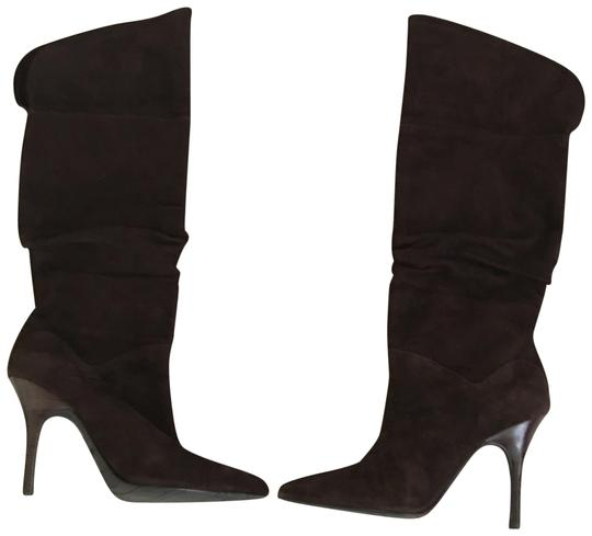 Preload https://img-static.tradesy.com/item/23848542/fitzwell-brown-suede-ruched-bootsbooties-size-us-85-regular-m-b-0-1-540-540.jpg
