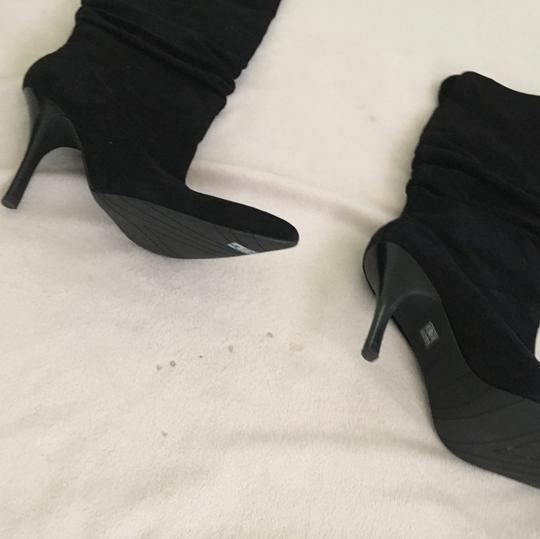 Fitzwell black suede Boots