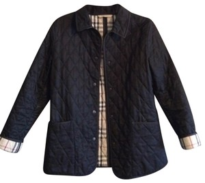 Burberry Womens Quilted Jacket black Jacket