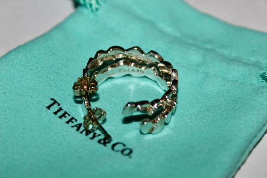 Tiffany & Co. Tiffany & Co. X Paloma Picasso Limited Edition Rare Heart Hoop Earring