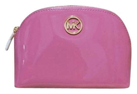 Preload https://item4.tradesy.com/images/michael-kors-tulip-pink-fulton-large-pouch-jet-set-large-pouch-cosmetic-bag-23848703-0-2.jpg?width=440&height=440
