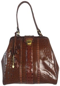 Brahmin Satchel in Brown