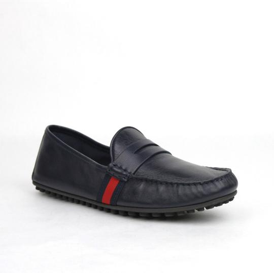 Preload https://img-static.tradesy.com/item/23848779/gucci-navy-blue-guccissima-leather-loafer-driver-105gus-11-407411-4060-shoes-0-0-540-540.jpg