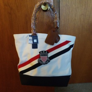 Polo Ralph Lauren Tote in Red, white, and blue