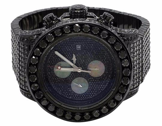 Breitling Men's Breitling A13370 Super Avenger XI PVD Steel Black Diamond Watch Image 4