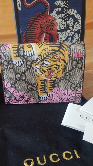 Gucci Gucci Bengal Wallet Card Case NEW IN BOX