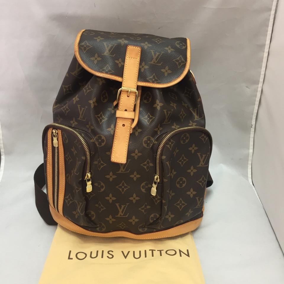 c10c1e67a48da Louis Vuitton Bosphore Discontinued and Sold Out Brown Monogram Canvas  Backpack
