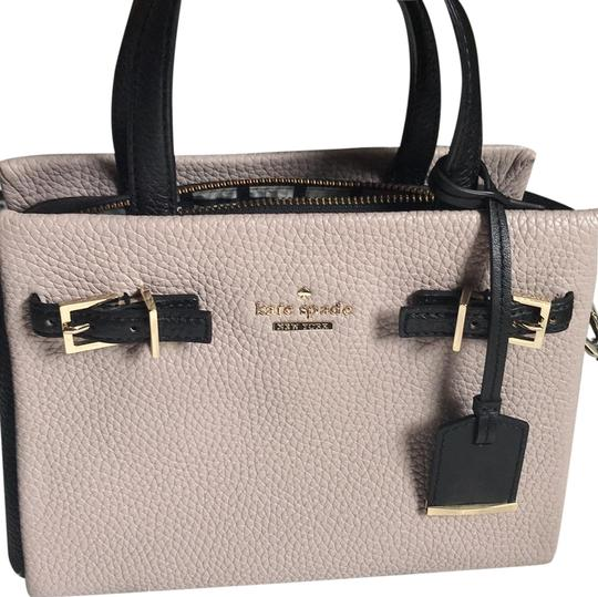 Preload https://img-static.tradesy.com/item/23848851/kate-spade-two-tone-satchel-or-mauve-and-black-cow-leather-cross-body-bag-0-1-540-540.jpg