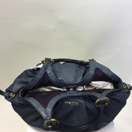 Miu Miu Satchel in blue