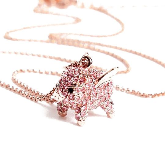 Kate Spade Brand New kate spade Imagination Pave Pig Fly Mini Pendant Necklace