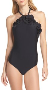 Ted Baker London Flower Applique One-Piece Swimsuit