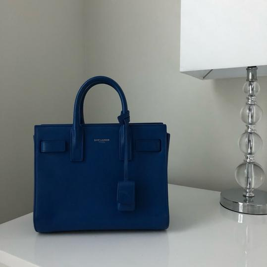 Saint Laurent Satchel in Royal Blue