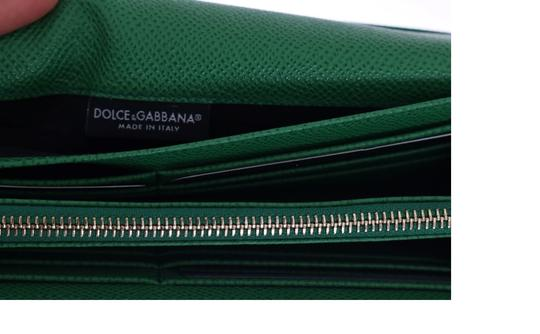 Dolce&Gabbana Dauphine Leather Wallet Clutch