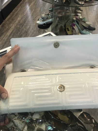 Versace Off white Clutch
