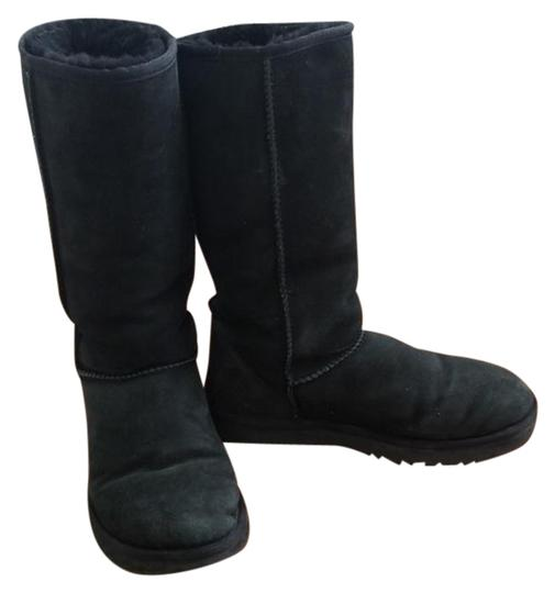 Preload https://img-static.tradesy.com/item/23848945/ugg-australia-black-tall-bootsbooties-size-us-8-regular-m-b-0-1-540-540.jpg