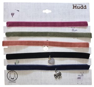 Mudd Chokers-5 pieces