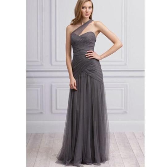 Preload https://img-static.tradesy.com/item/23848976/monique-lhuillier-slate-tulle-450088-feminine-bridesmaidmob-dress-size-10-m-0-1-540-540.jpg