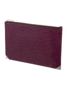 Alexander Wang Leather Pouch Purple Haze Clutch