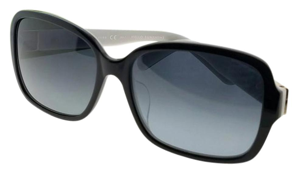 46fa3037ecdd Kate Spade Black Celinda-f-s-qop-58 Women's Frame Grey Lens Genuine  Sunglasses