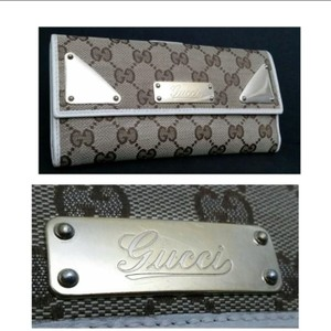 Gucci Authentic Gucci Long Leather Wallet- Beautiful